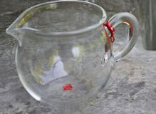 Стеклянное gaiwan для чая puer Стоковая Фотография