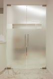 Стеклянные двери в гостинице Стоковые Фото