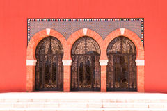 Стеклянные двери стоковое изображение rf