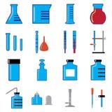 Стеклянные изделия в химии бесплатная иллюстрация