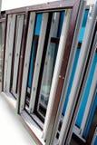 Стеклянные и пластичные окна Стоковая Фотография RF