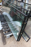 Стеклянные и пластичные окна Стоковое фото RF
