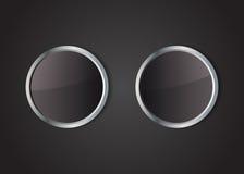 Стеклянные кнопки Стоковые Фотографии RF