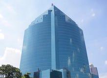 Стеклянные небоскребы здания Стоковое Изображение RF