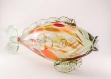 Стеклянные рыбы Стоковая Фотография