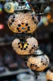 Стеклянные фонарики Стоковые Изображения