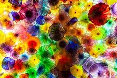 Стеклянные цветки Стоковые Изображения
