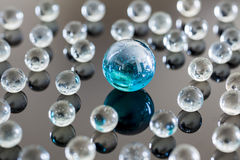 Стеклянные шарики Стоковая Фотография