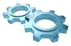 Стеклянные Cogwheels Стоковая Фотография RF