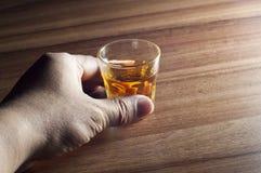 стеклянный виски стоковые изображения rf