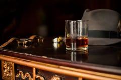 стеклянный виски стоковое изображение