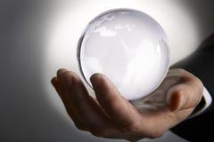 Стеклянный глобус Стоковые Фото