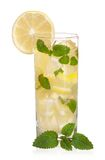стеклянный лимонад Стоковое Изображение