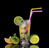 стеклянный лимонад Стоковое Изображение RF