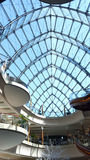 Стеклянный интерьер здания Стоковая Фотография RF