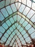 Стеклянный интерьер здания Стоковая Фотография