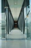 Стеклянный коридор Стоковое Фото