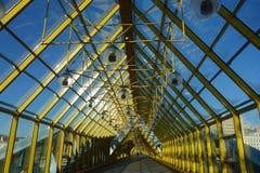 Стеклянный купол моста St Andrew Стоковая Фотография