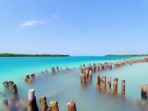 Стеклянный путь воды Стоковое Изображение RF