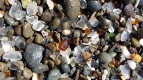 Стеклянный пляж Стоковые Изображения