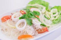 Стеклянный салат лапши Стоковая Фотография