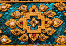 Стеклянный стиль картины мозаики цвета Стоковые Изображения RF