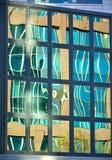 Стеклянный фасад современного офисного здания Стоковое Фото