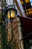 Стеклянный фонарик Стоковые Фото