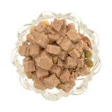Стеклянный шар собачьей еды овечки и утки Стоковая Фотография RF