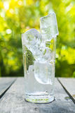 стеклянный льдед Стоковая Фотография RF