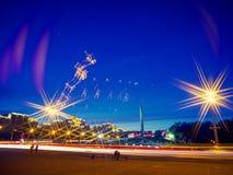 Стелла в Минске Стоковое Изображение RF