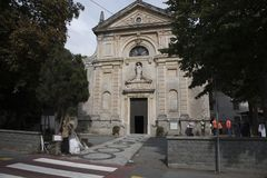 Стелла santa Giustina Лигурия, около Савоны Италии Стоковые Изображения RF