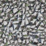 Стена абстрактного вектора каменная картина безшовная бесплатная иллюстрация