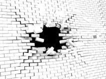 стена аварии иллюстрация вектора