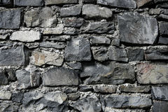 стена античного серого masonry grunge старая каменная Стоковая Фотография RF