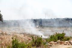 Стена арартеида Палестины Израиля разъединения Стоковые Фотографии RF