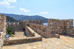 Стена башни Marmaris Стоковые Изображения RF