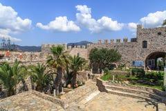 Стена башни Marmaris Стоковое Изображение