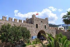 Стена башни Marmaris Стоковая Фотография