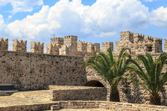 Стена башни Marmaris Стоковое Фото