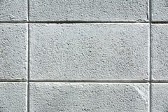 Стена бетонной плиты, предпосылка блока цемента Стоковое Фото