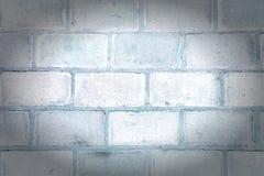Стена больших блоков Пустая предпосылка с текстурой masonry Фото с виньеткой стоковое изображение