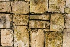 Стена больших камней Стоковое фото RF