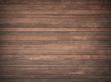 Стена Брайна деревянная, таблица, поверхность пола темная древесина текстуры Стоковая Фотография