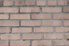 Стена Брайна сделанная кирпича для предпосылок и текстур Стоковые Изображения RF