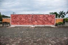 Стена Брайна Стоковое Изображение RF