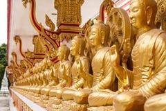 Стена буддизма Стоковые Фото