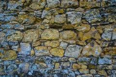 Стена булыжника Стоковые Изображения