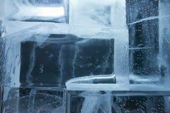 Стена блоков льда Стоковые Фотографии RF