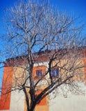 стена вала голубого неба Стоковое фото RF